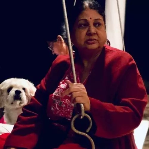 Hetal Yadav Mother