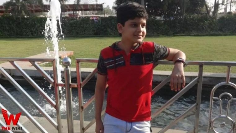 Shubham Jha (Child Actor)
