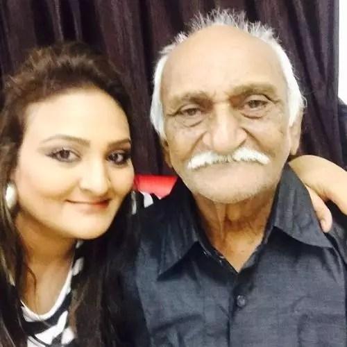 Urvashi Upadhyay Father