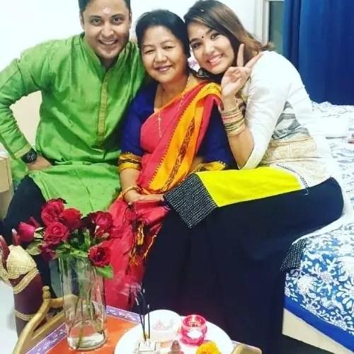 Anant Tyagi Family