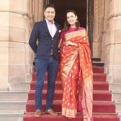 Anant Tyagi and Sagarika Chhetri