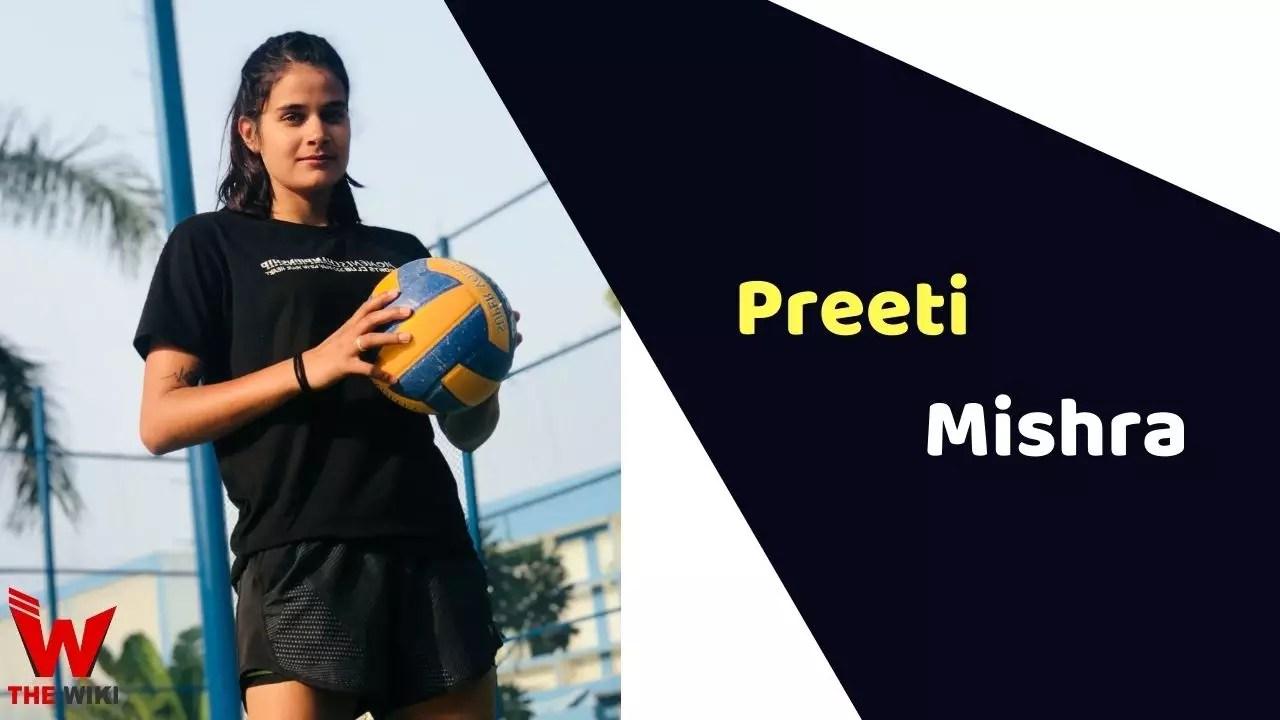 Preeti Mishra (Volleyball Player)