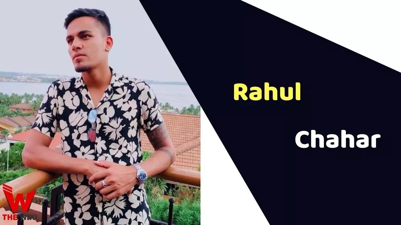Rahul Chahar (Cricketer)