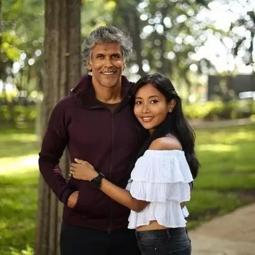 Ankita Konwar with Husband