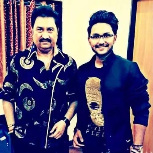 Jaan Kumar Sanu with (father) Kumar Sanu