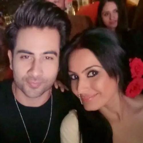 Lakshya Handa with Kamya Punjabi