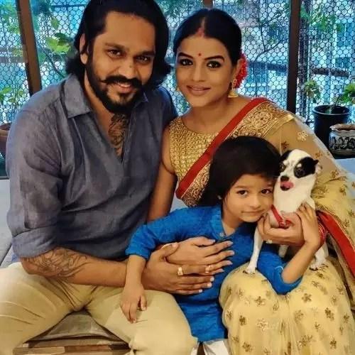 Mitali Nag Family
