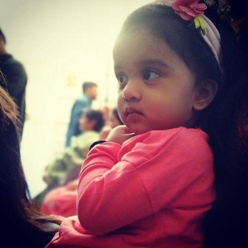 Pratish Vora's Daughter (Aadhya Vora)
