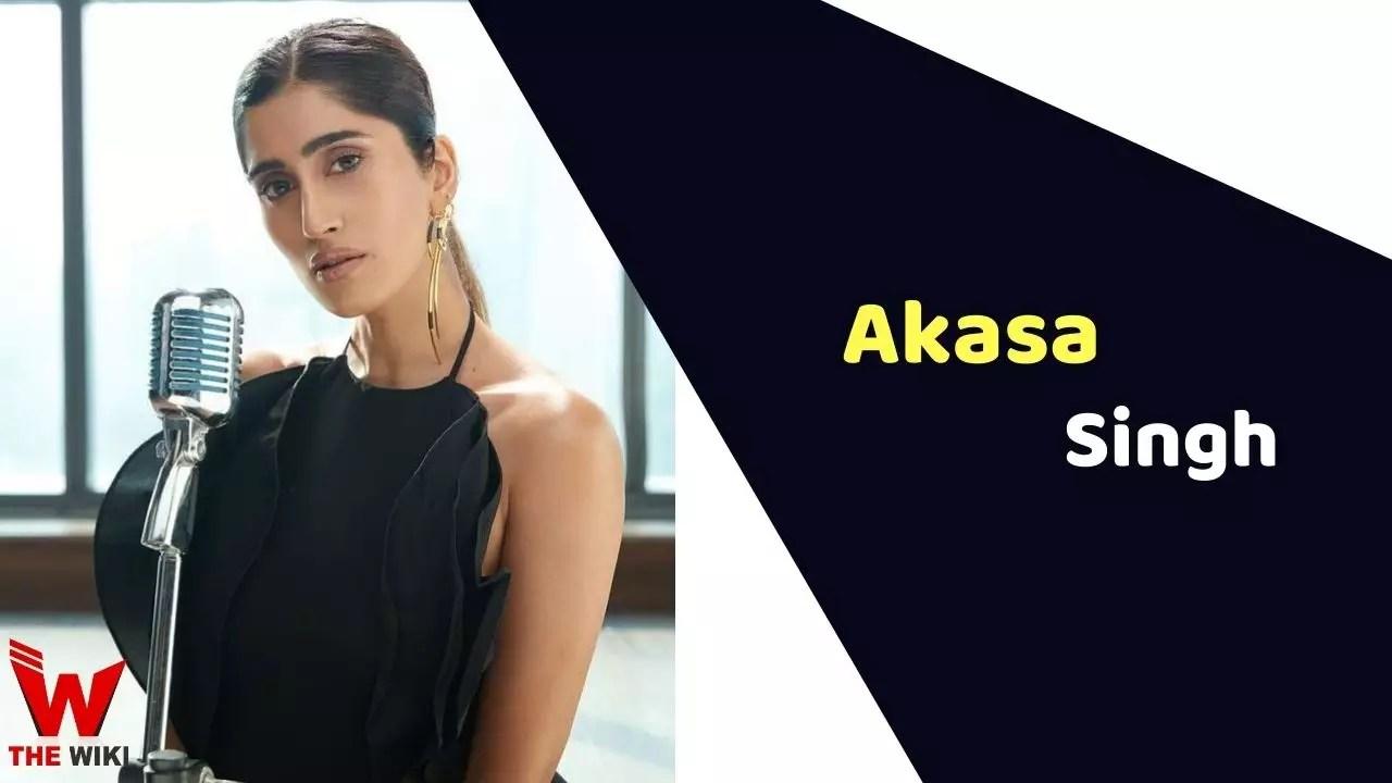 Akasa Singh (Singer)