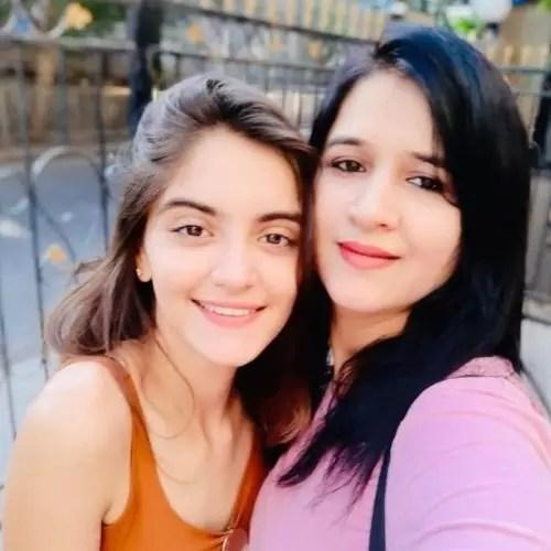 Dhwani Gori with Mother