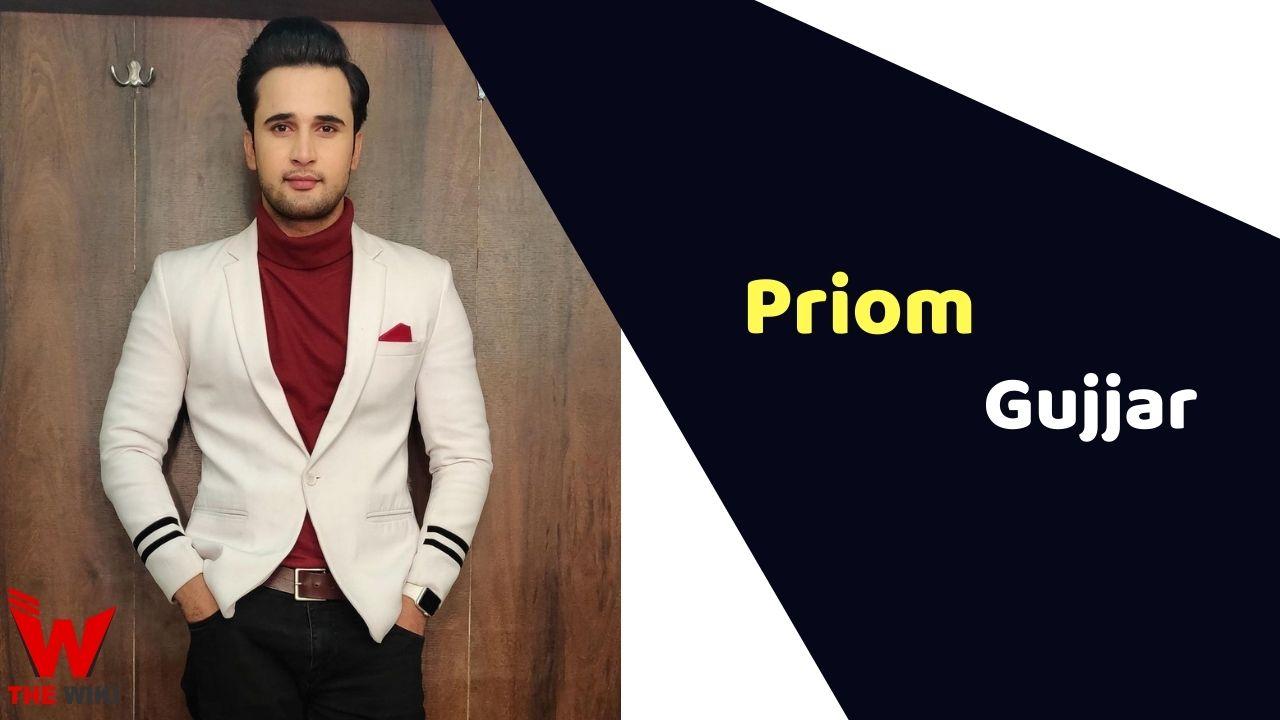 Priom Gujjar (Actor)