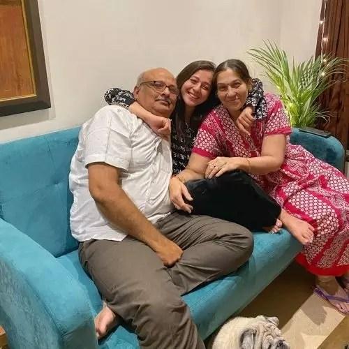 Priyal Gor Parents