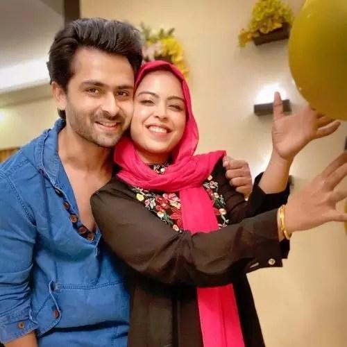 Shoaib Ibrahim with Sister