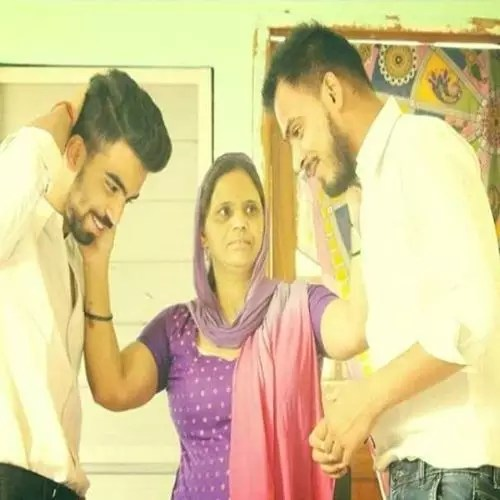 Amit Bhadana with Mother and Brother