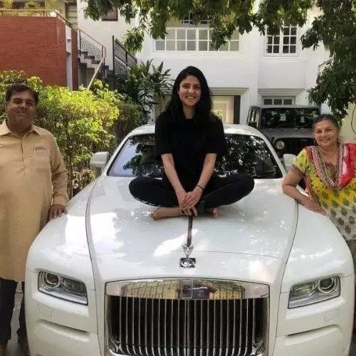 Badshah's Father, Mother and Sister