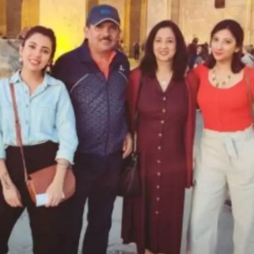Barkha Singh Family