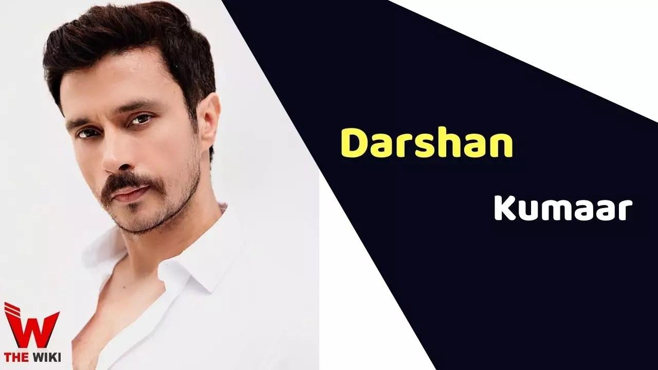 Darshan Kumaar (Actor)