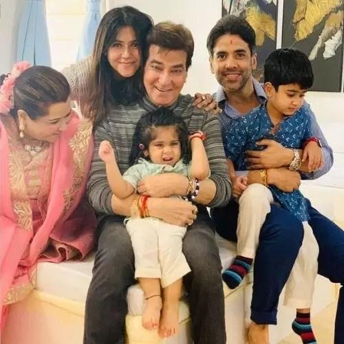 Ekta Kapoor's Family
