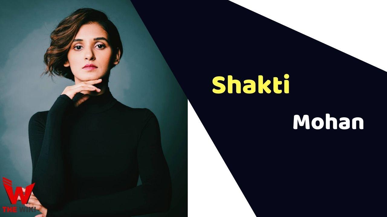 Shakti Mohan (Dancer)