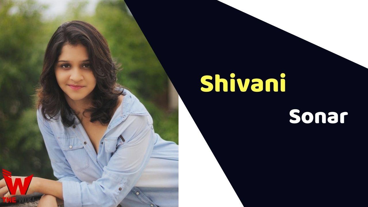 Shivani Sonar (Actress)
