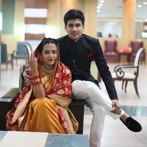 Shubhashish Jha with his sister
