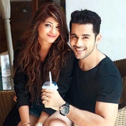 Abhishek Bajaj with Akanksha Jindal (Wife)