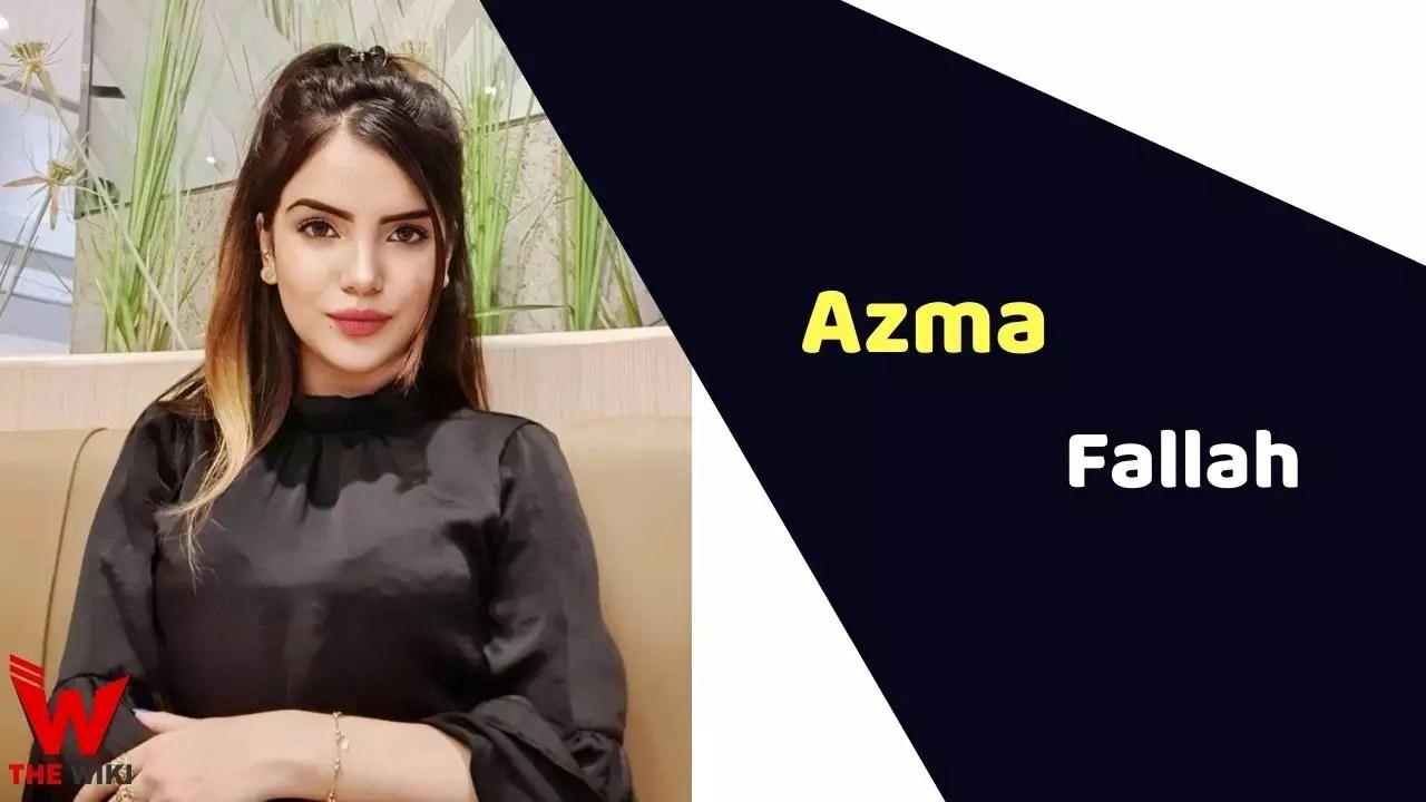 Azma Fallah (MTV Splitsvilla)