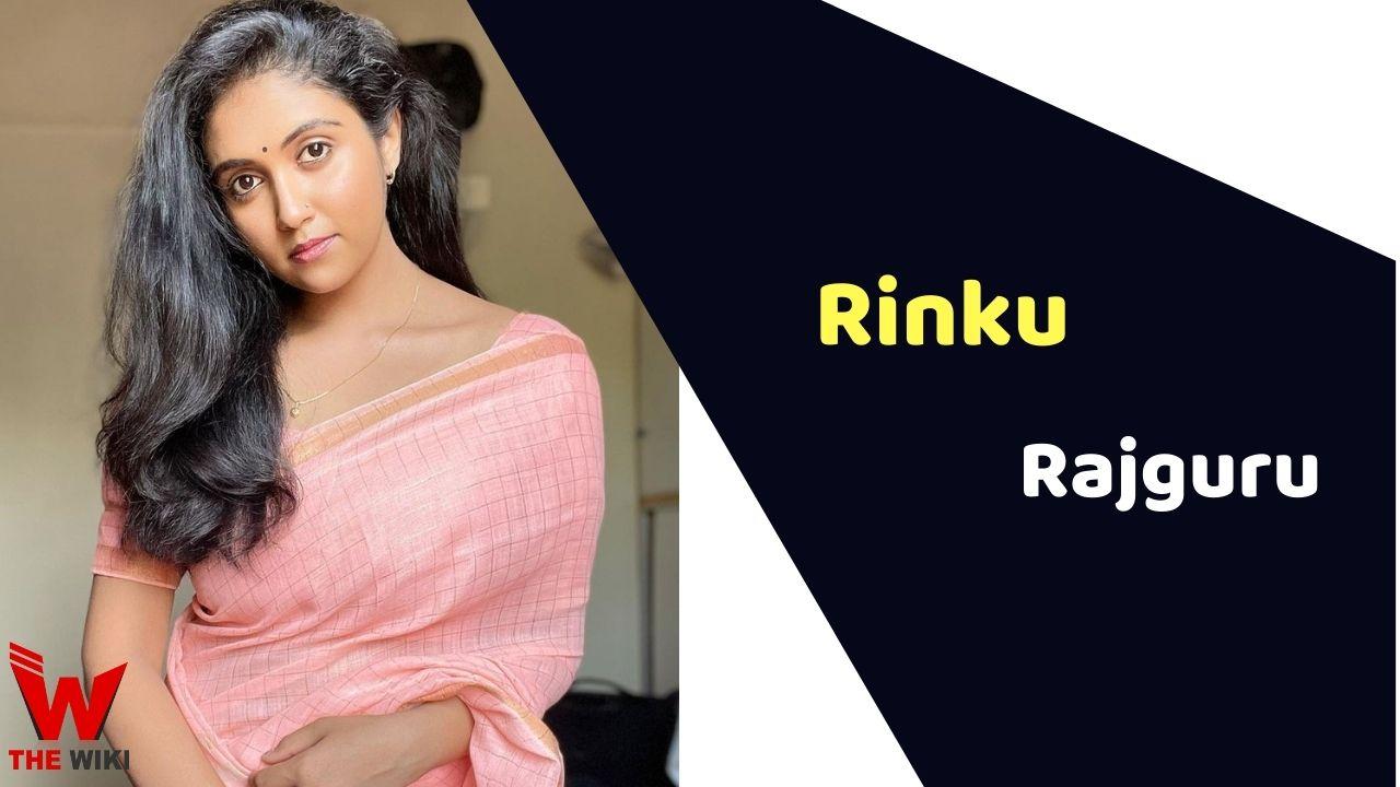 Rinku Rajguru (Actress)