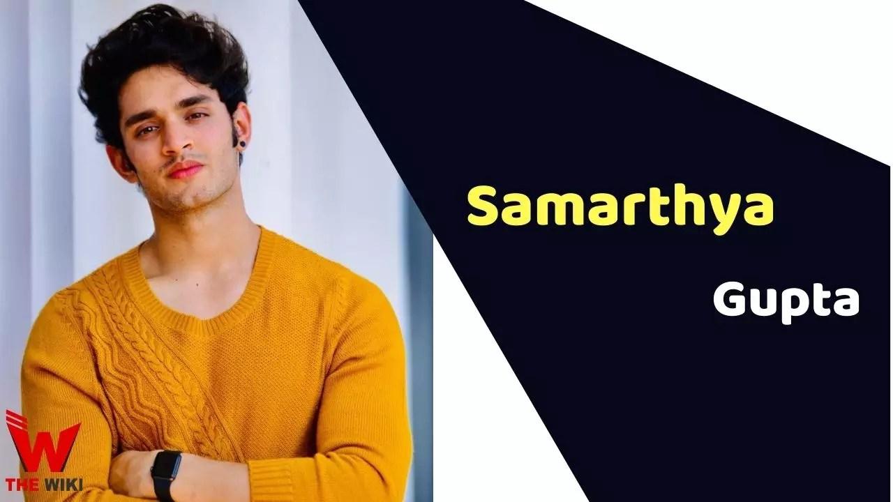 Samarthya Gupta (Model)