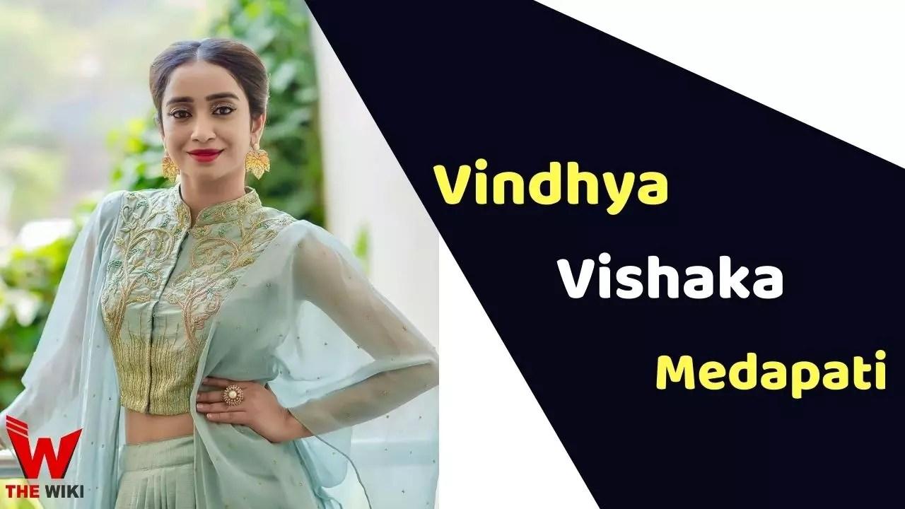 Vindhya Vishaka Medapati (Anchor)