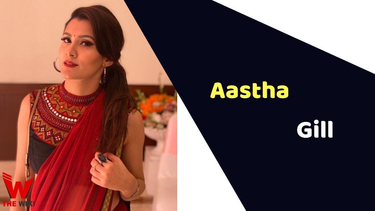 Aastha Gill (Singer)