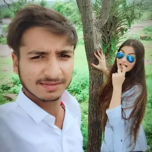 Ankita Chouhan with Brother