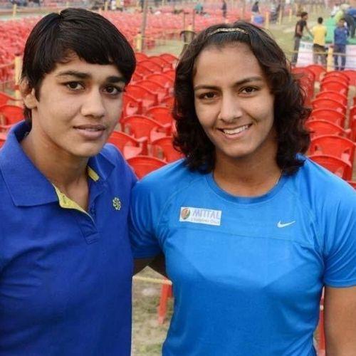 Geeta Phogat and Babita Kumari Phogat
