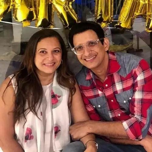 Manasi Joshi Roy and Sharman Joshi