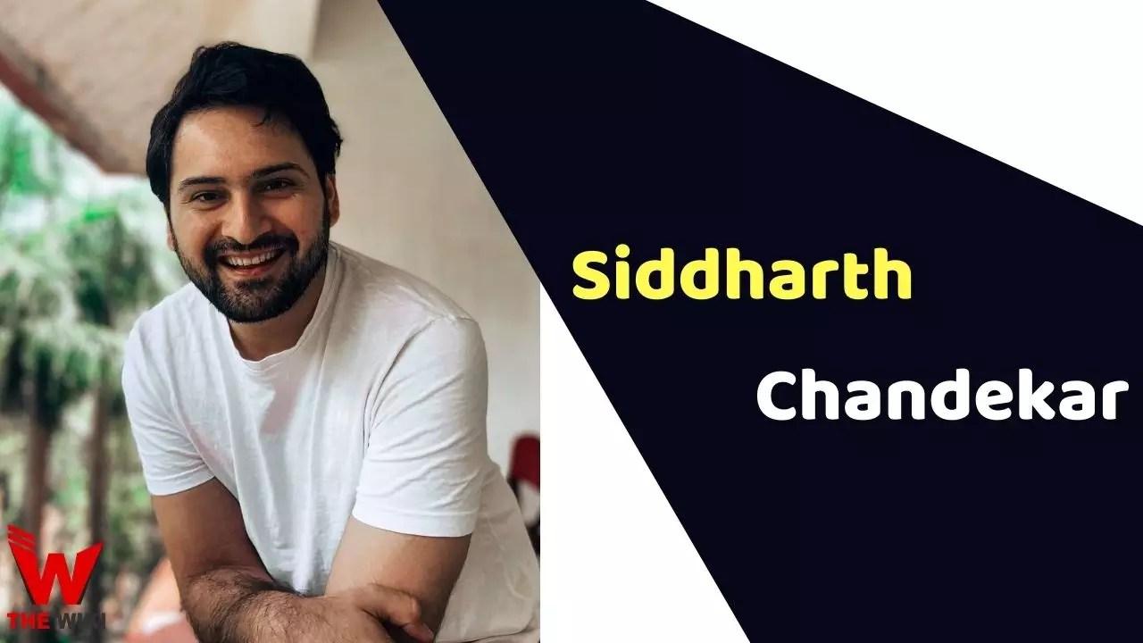 Siddharth Chandekar (Actor)