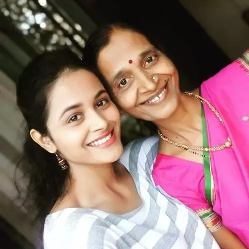 Deepti Devi with Mother
