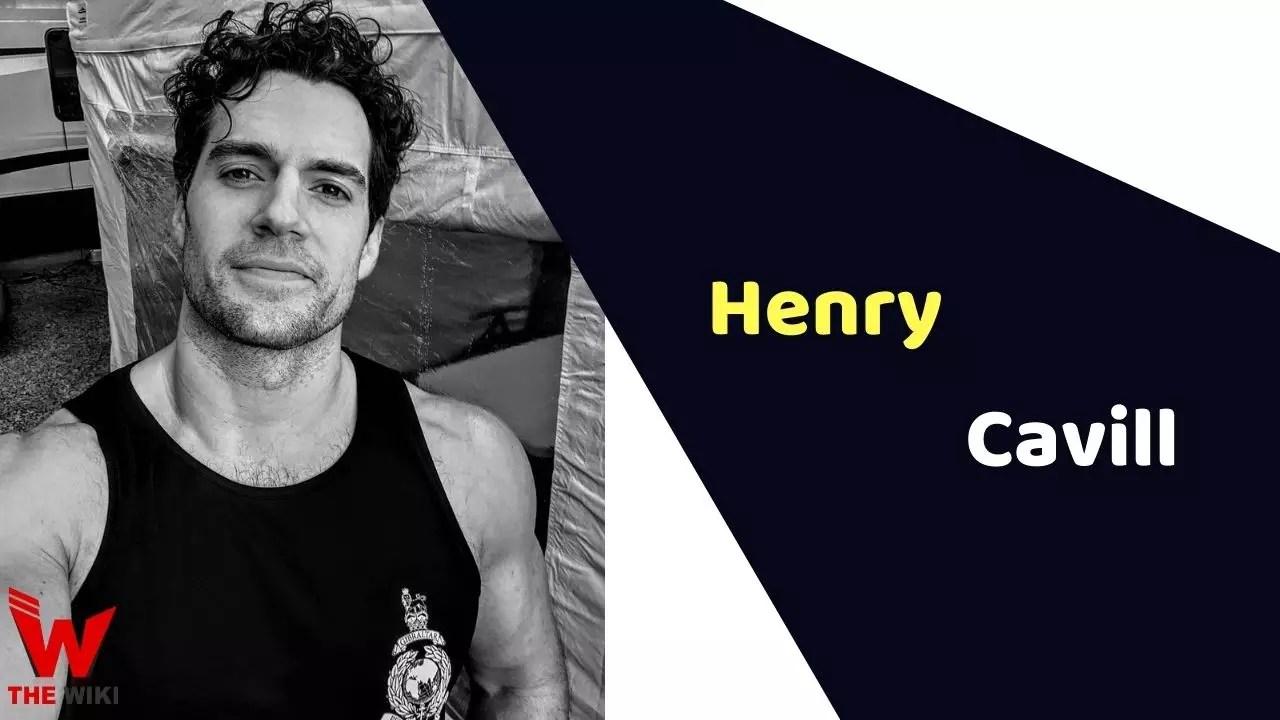 Henry Cavill (Actor)