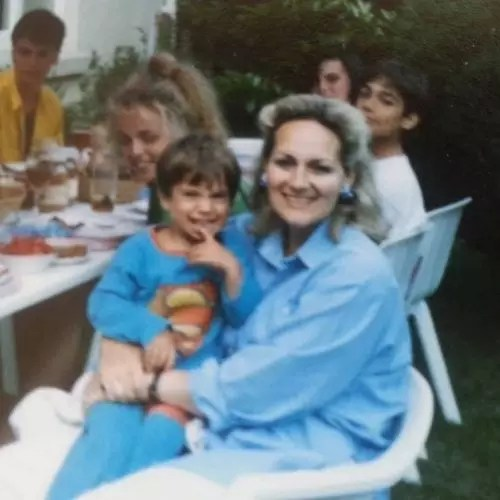 Henry Cavill with Mother