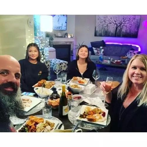 Matt Johnson with Family