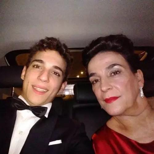 Miguel Herran with Mother