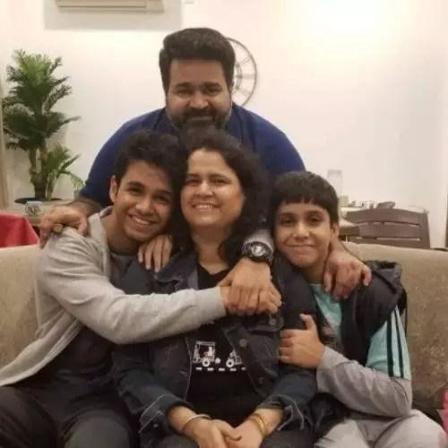 Ritvik Sahore with Family