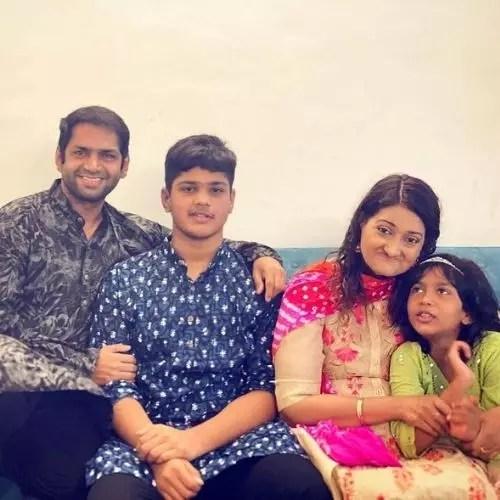 Sharib Hashmi family