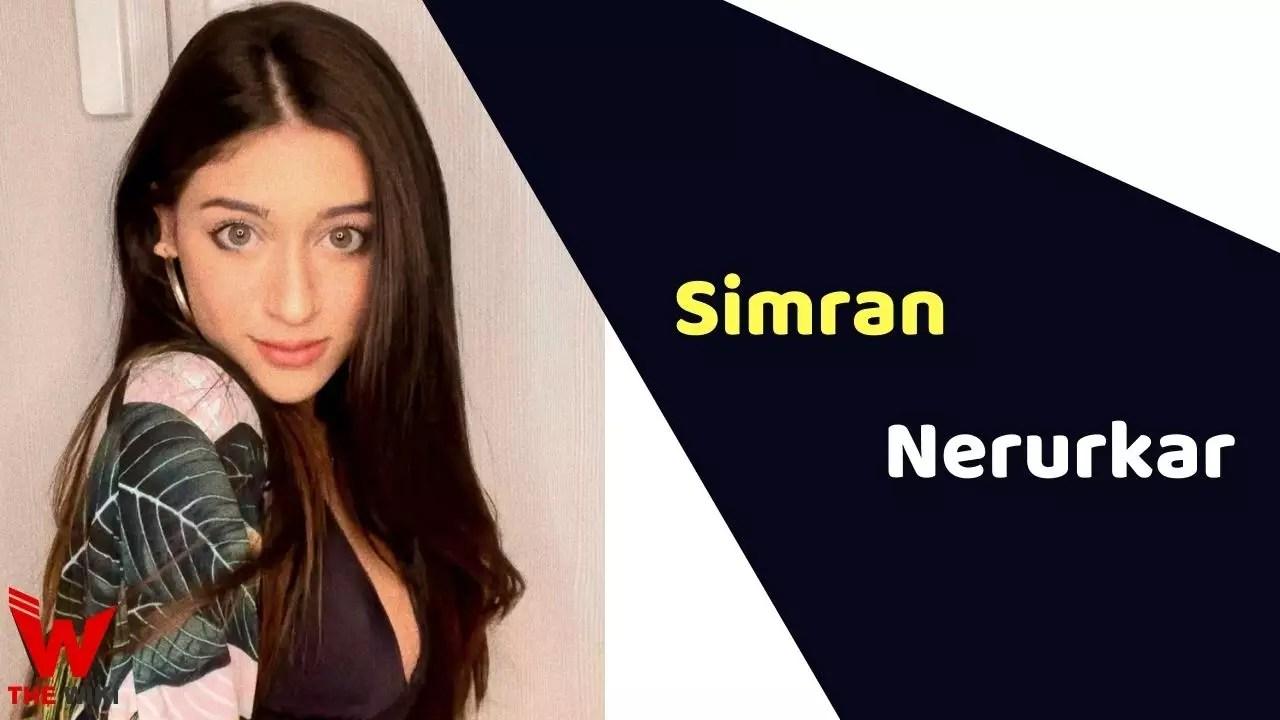 Simran Nerurkar (Actress)