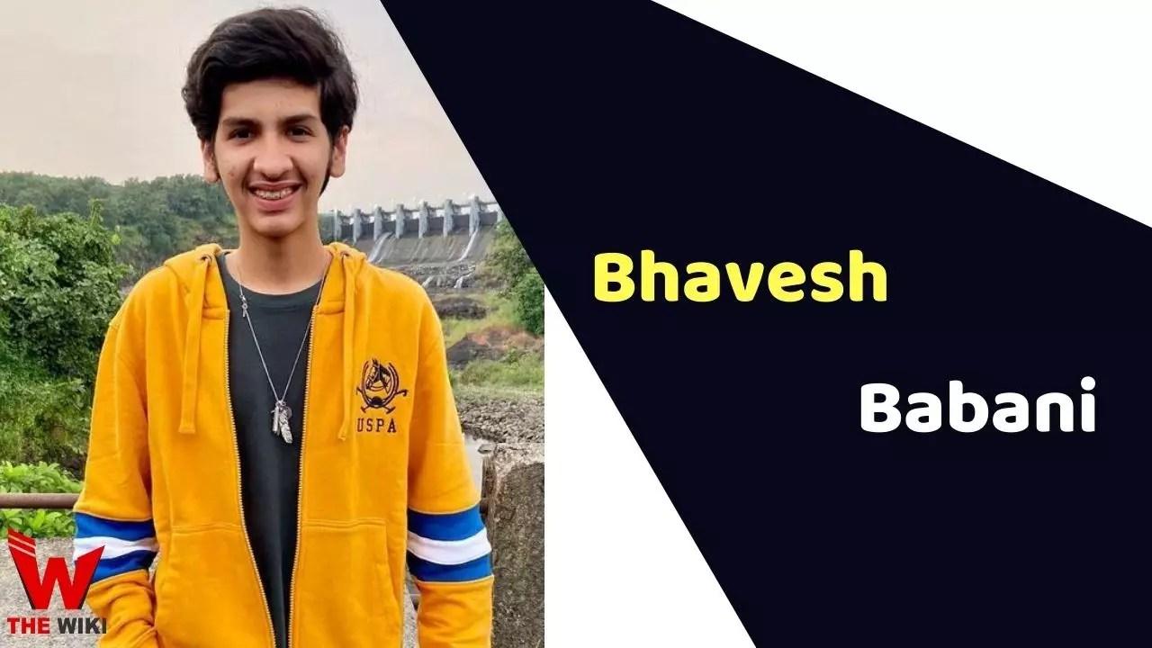 Bhavesh Babani (Child Actor)