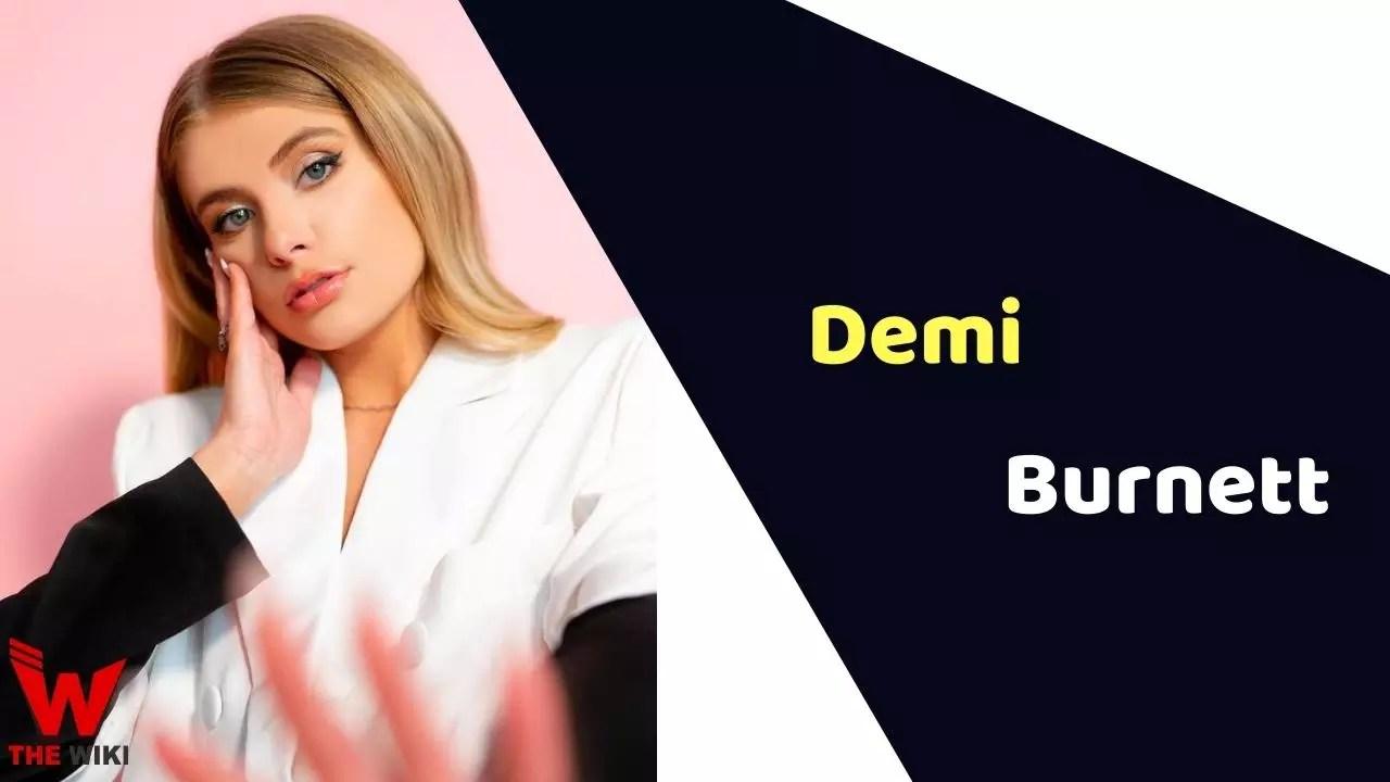 Demi Burnett (Television Personality)