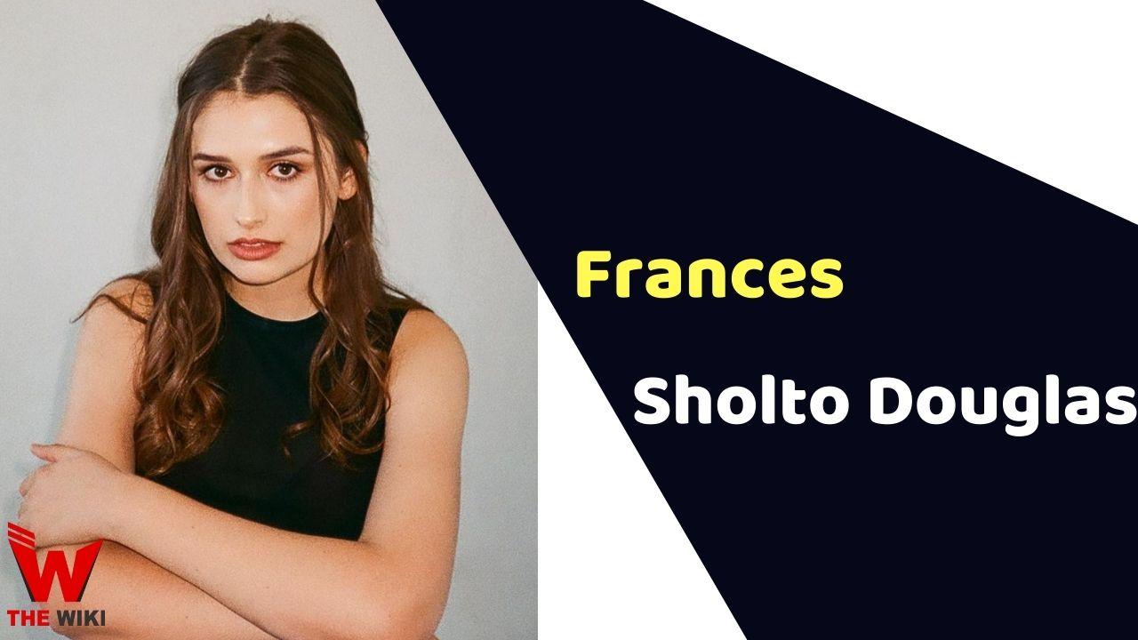 Frances Sholto Douglas (Actress)