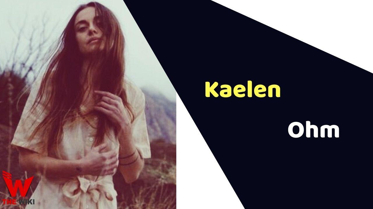 Kaelen Ohm (Actress)