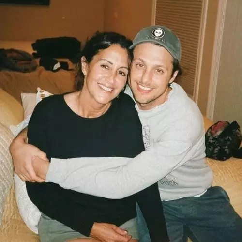Michael Vlamis with Mother