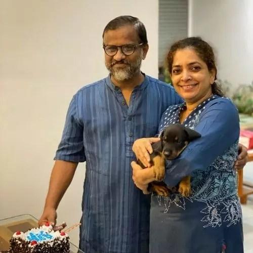 Neeraj Madhav Parents
