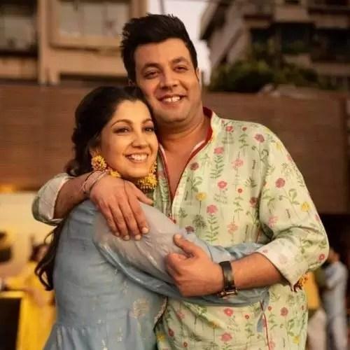 Varun Sharma with sister